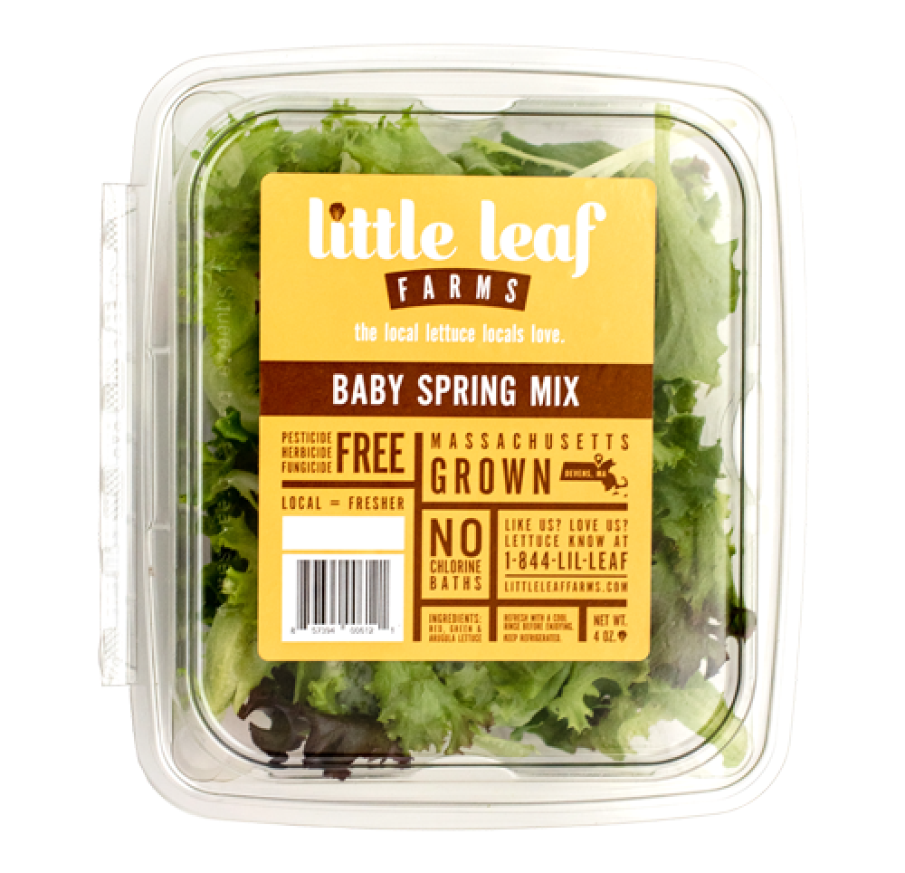 Our Products - Little Leaf Farms | Lettuce | Baby Greens